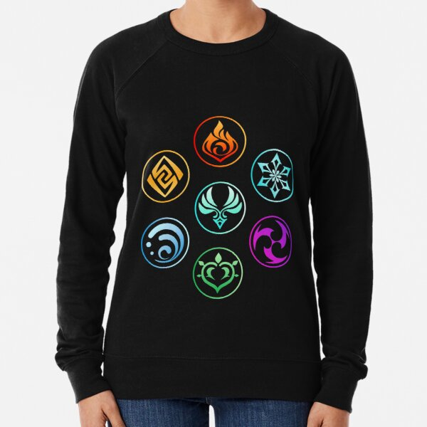 Genshin Impact | Element Set Lightweight Sweatshirt