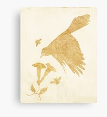 Swoop Silhouette Canvas Print
