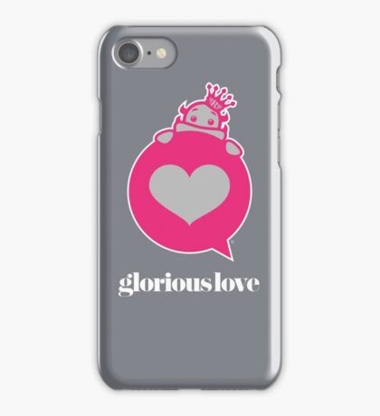 Glorious Monster Love iPhone Case/Skin