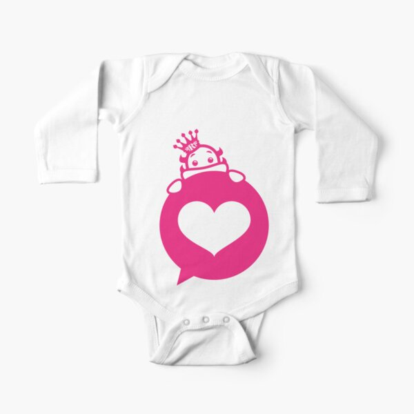 Glorious Monster Love Long Sleeve Baby One-Piece