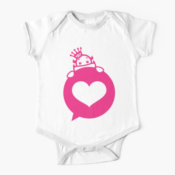 Glorious Monster Love Short Sleeve Baby One-Piece