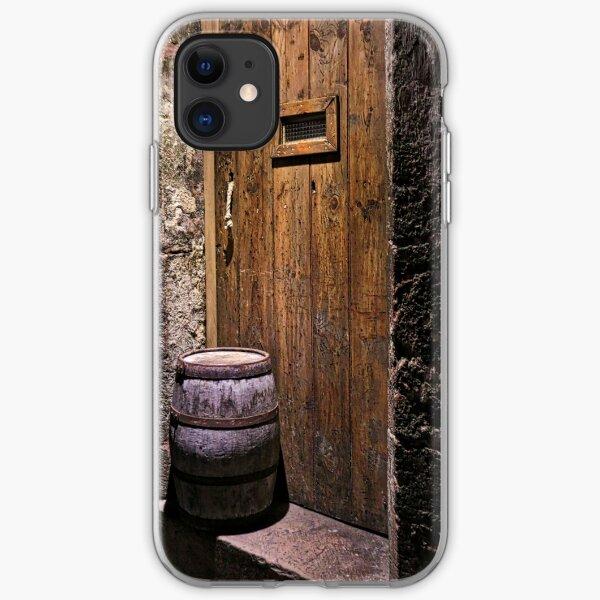 Behind the Door iPhone Soft Case