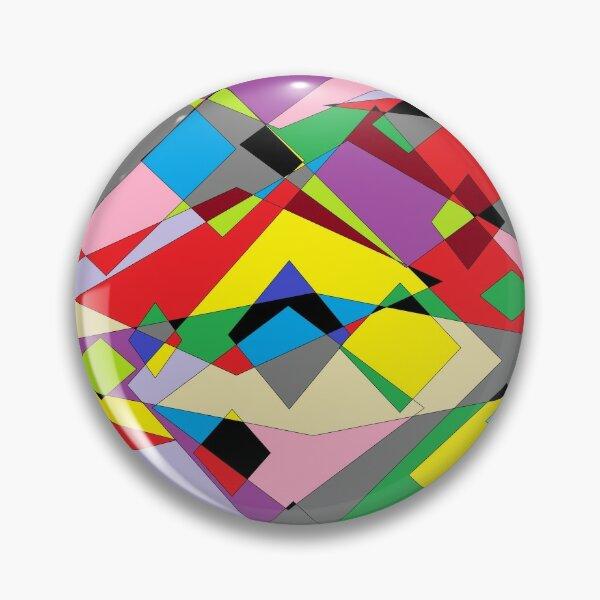 Colorful World of Sharp Corners Pin