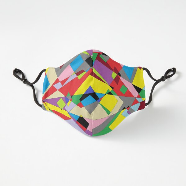 Colorful World of Sharp Corners Fitted 3-Layer