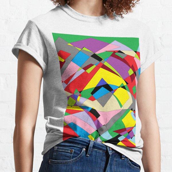 Colorful World of Sharp Corners Classic T-Shirt