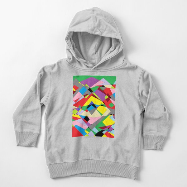 Colorful World of Sharp Corners Toddler Pullover Hoodie