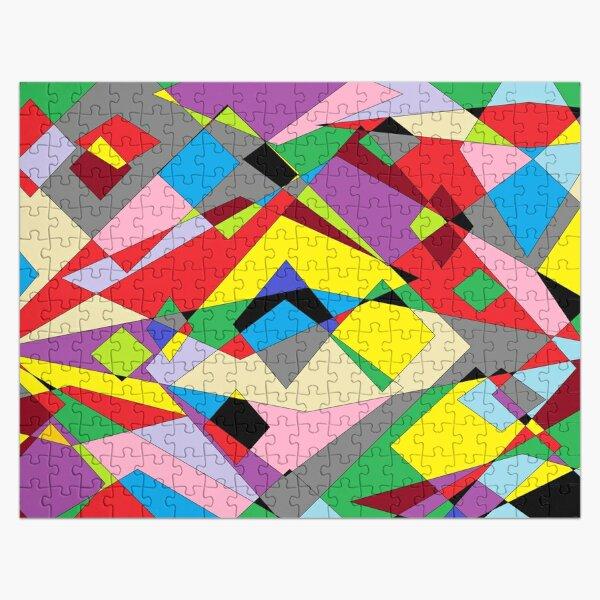 Colorful World of Sharp Corners Jigsaw Puzzle