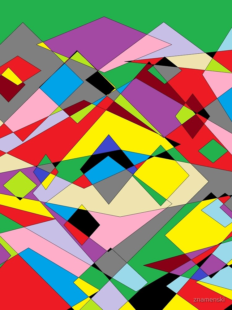 Colorful World of Sharp Corners by znamenski