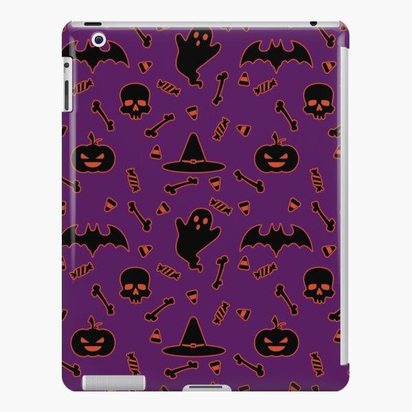 Halloween pattern purple iPad Snap Case