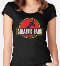 Giraffic Park Women's Fitted Scoop T-Shirt