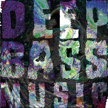 deep bass music logo float by timodufner