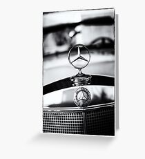 BenZ BW Greeting Card
