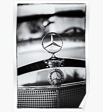 BenZ BW Poster