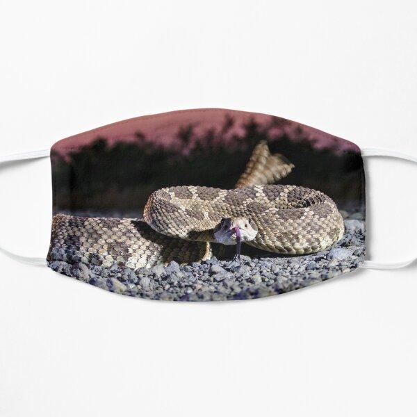 Rattlesnake tail Flat Mask