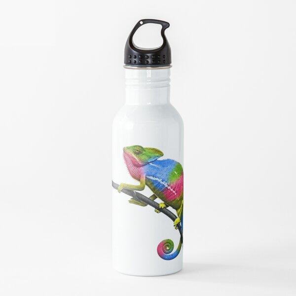 Rainbow Chameleon Water Bottle