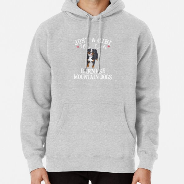 Bernese Mountain Dog Pullover Hoodie
