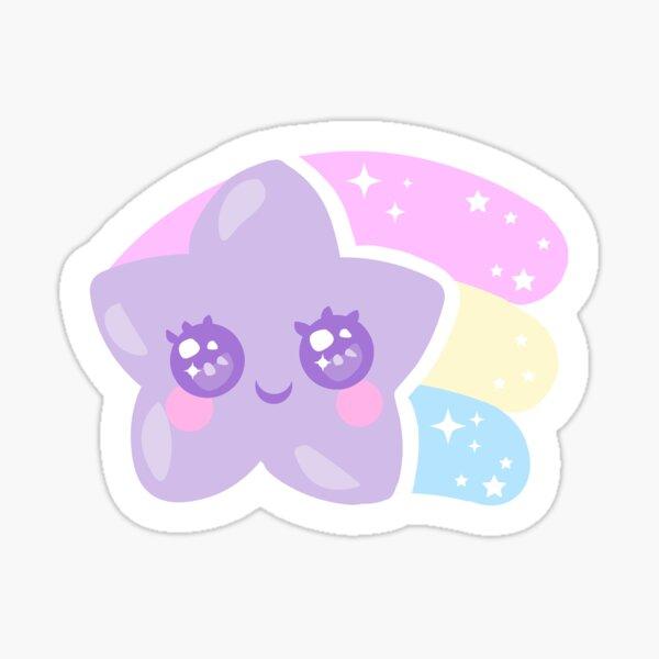 Kawaii shooting star Sticker