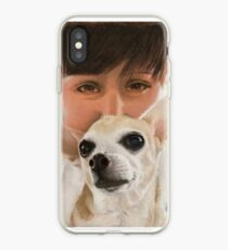 Max the adorable Chihuahua iPhone Case