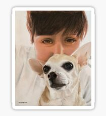 Max the adorable Chihuahua Sticker