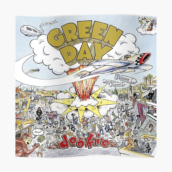 Dookie - Green Day Poster