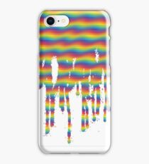 Psychedelic Paint Drip iPhone Case/Skin
