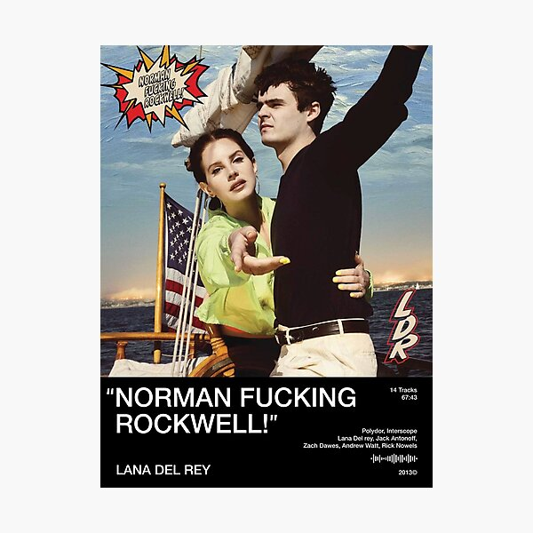 Norman F***ing Rockwell Photographic Print