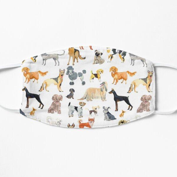 Favorite Dog Breeds Flat Mask