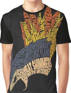Pokemon - Typhlosion - Typography Graphic T-Shirt