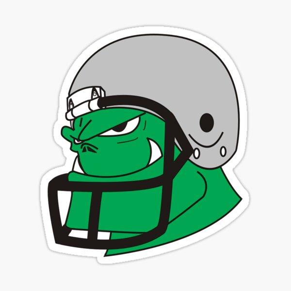 Monster Football Sticker