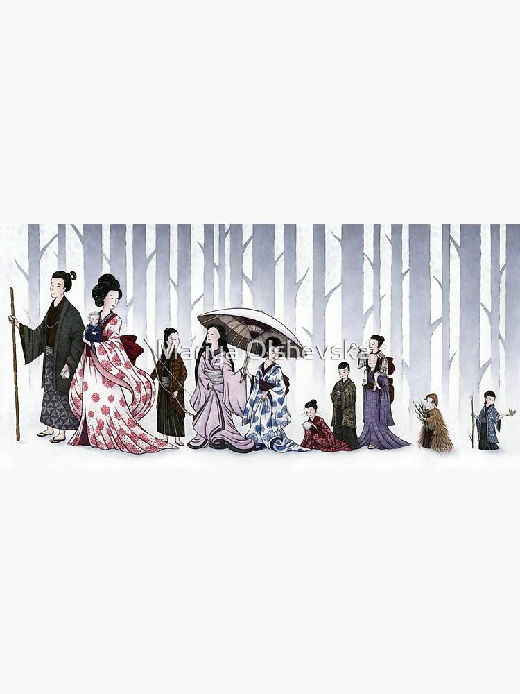 Family Stroll by OzureFlame