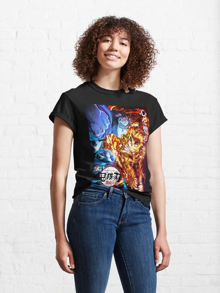 Alternate view of Demon Slayer the Movie: Infinity Train Classic T-Shirt