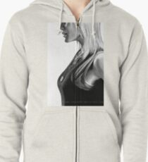 Nothing But The Rain. Zipped Hoodie