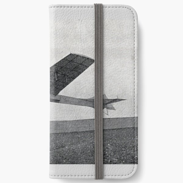 Take flight with this vintage airplane iPhone Wallet