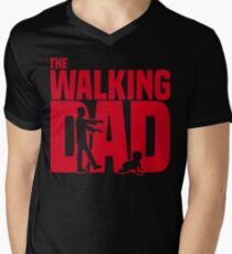 The walking dad Men's V-Neck T-Shirt
