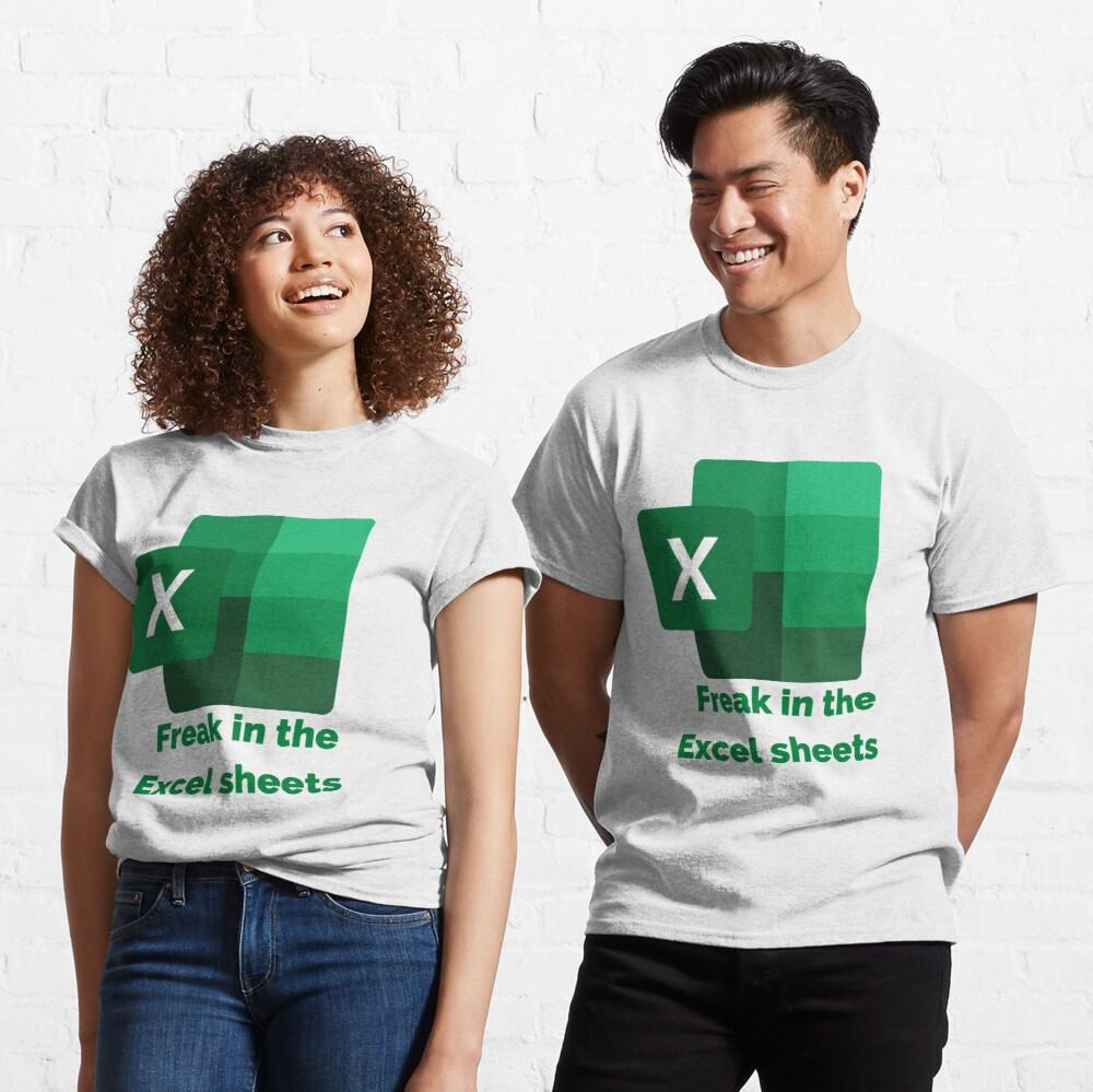 Freak in The Excel Sheets  Classic T-Shirt