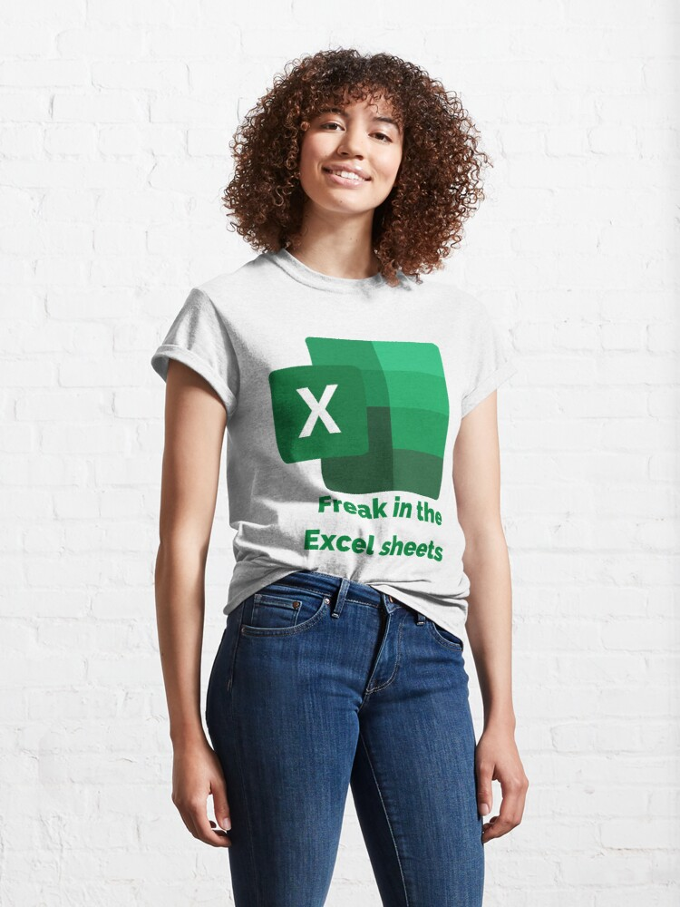 Alternate view of Freak in The Excel Sheets  Classic T-Shirt