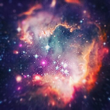 The Universe under the Microscope (Magellanic Cloud) von badbugs