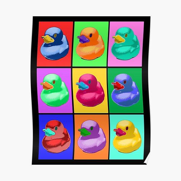 Pop Art Ducky Poster