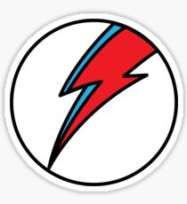 A Tribute To Bowie Sticker