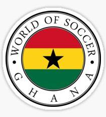 Ghana soccer world Sticker