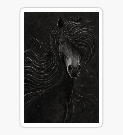 Night Horse Sticker
