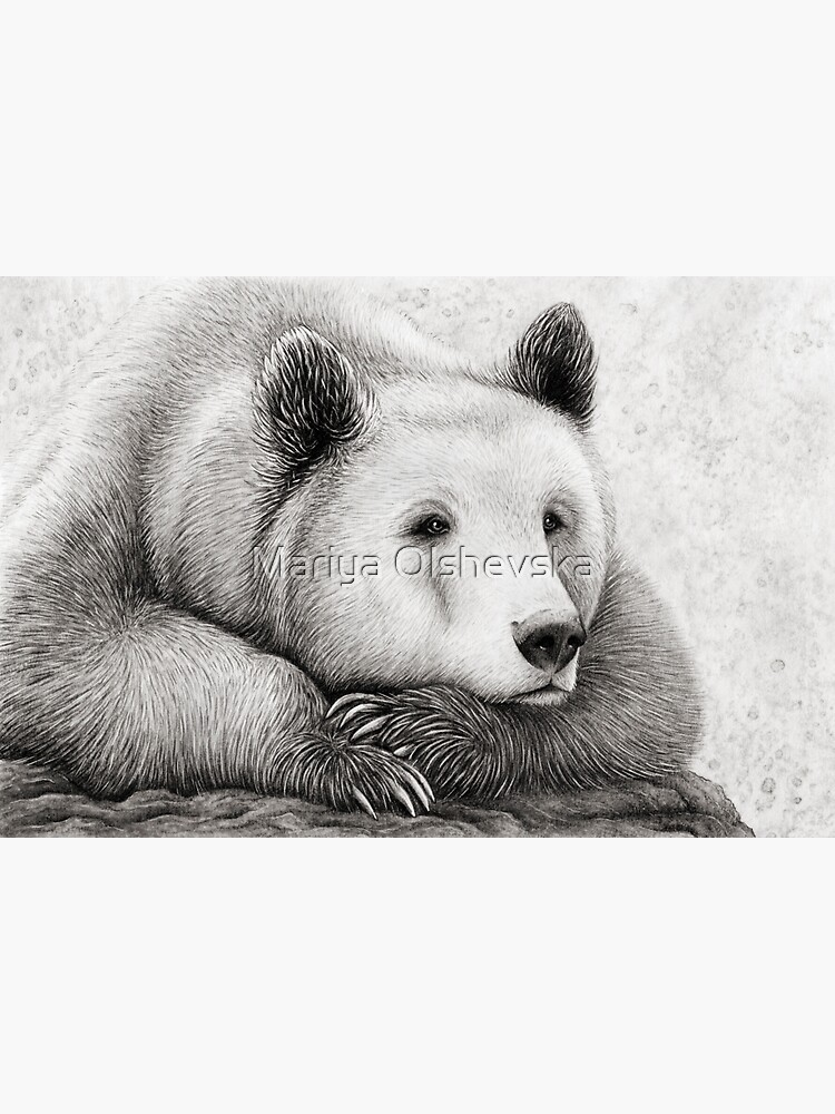 Brooding Bear by OzureFlame