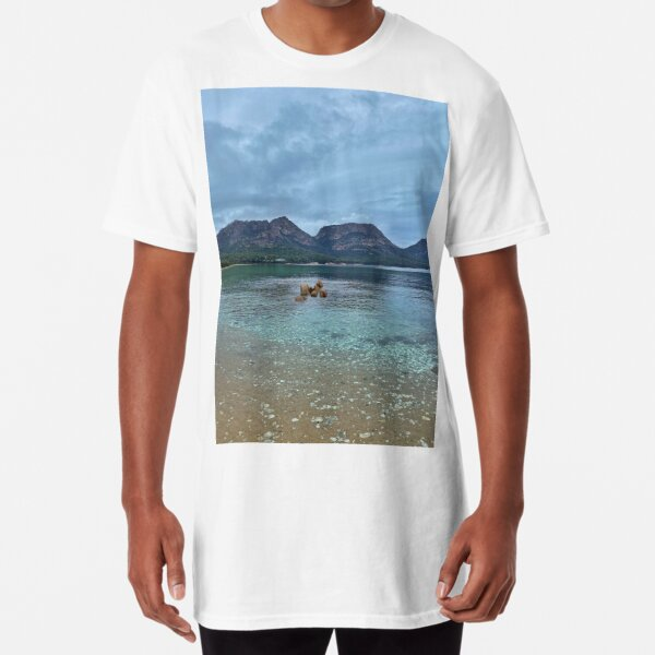 The Hazards, Coles Bay, Tasmania  Long T-Shirt