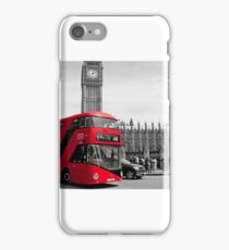 Red London Bus iPhone Case/Skin