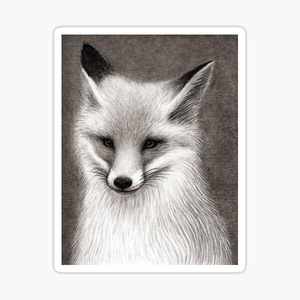 Inari the Fox Sticker