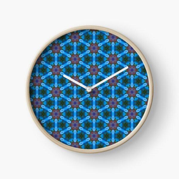 Pattern Retro Modern Clock