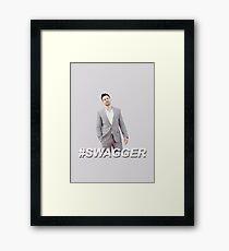 #SWAGGER Framed Print