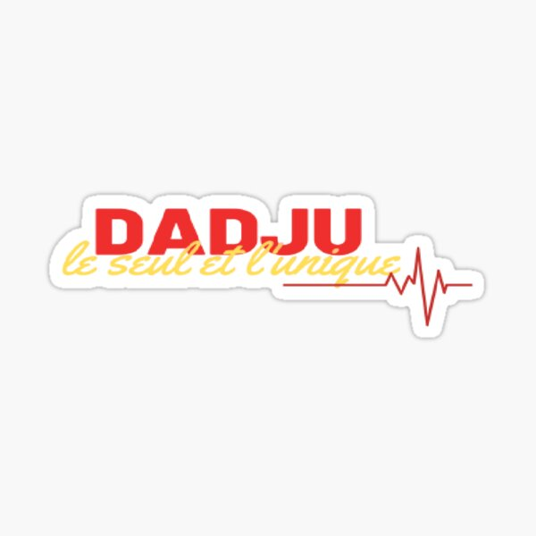 Dadju fashion Collection version unique rouge & jaune model classique Sticker