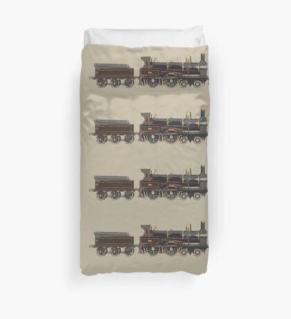 train brown Duvet Cover