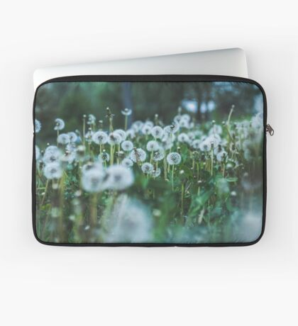 dusky dandelions Housse de laptop